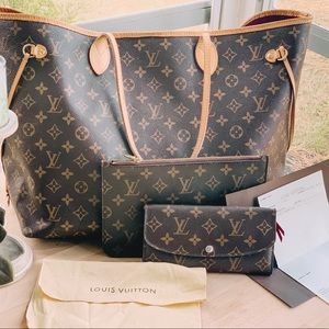 Authentic BUNDLE Louis Vuitton Set